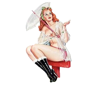 gubbklubben-pin-up-summer-rain